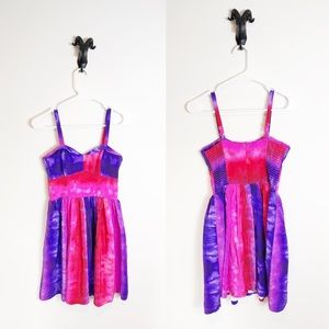 Amanda Uprichard Silk Watercolor Dress